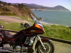Port Orford and bike 2
